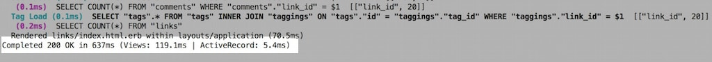 Server log time