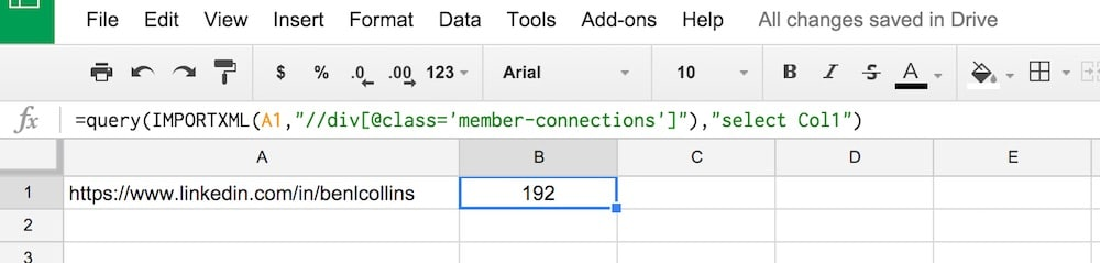 How to import social media statistics into Google Sheets