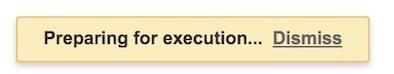 GAS execute script