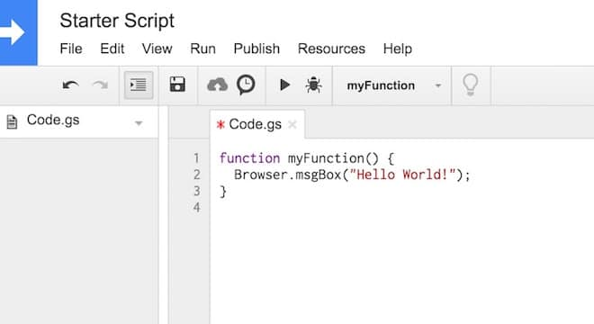 Google Apps Script: A Beginner's Guide To Learn Apps Script