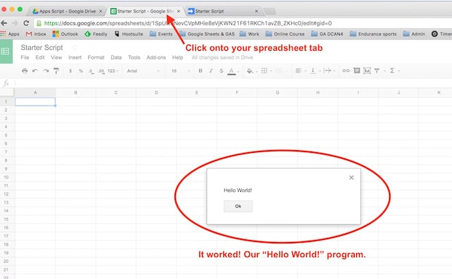 google sheets script tutorial beginner guide to coding with google