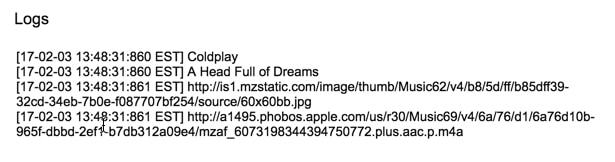 iTunes api details