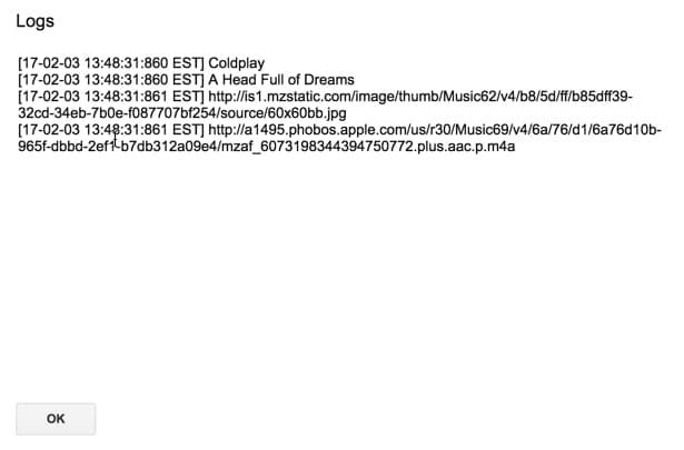iTunes api details - Ben Collins