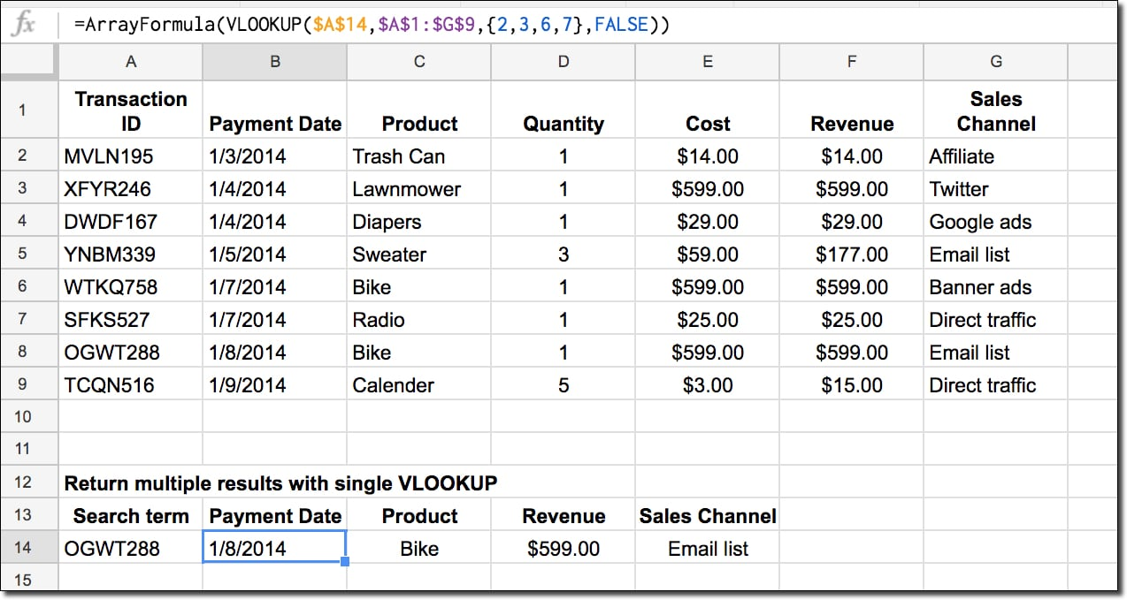 See This Report on How To Do A Vlookup