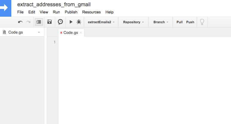 How to extract email addresses tagged with a specific Gmail