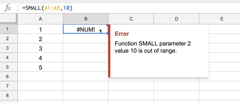 how to fix num error in excel
