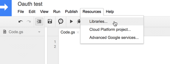 Add Oauth library