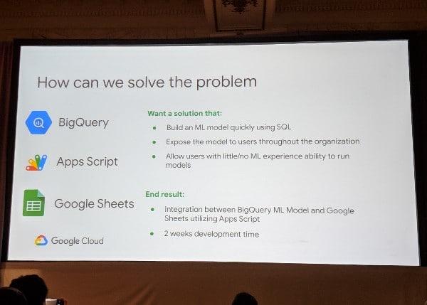 BigQuery Connector into Google Sheets
