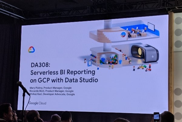 Serverless reporting with GCP and Data Studio