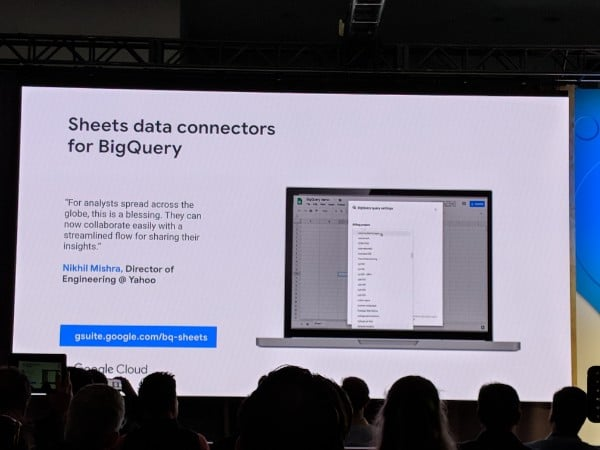 Google Sheets BigQuery connector