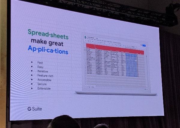 Spreadsheet applications
