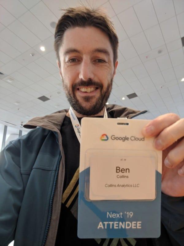 Google Next 19 Badge