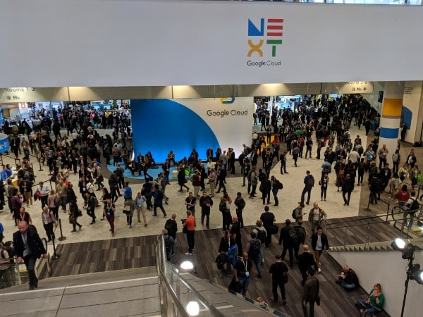 Google Next 19 Vendor hall