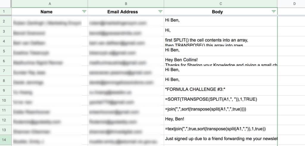 Gmail Mail Merge Google Sheet