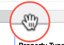 Freeze rows shortcut trick in Google Sheets