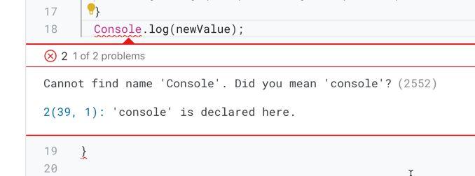 error go to Next Problem