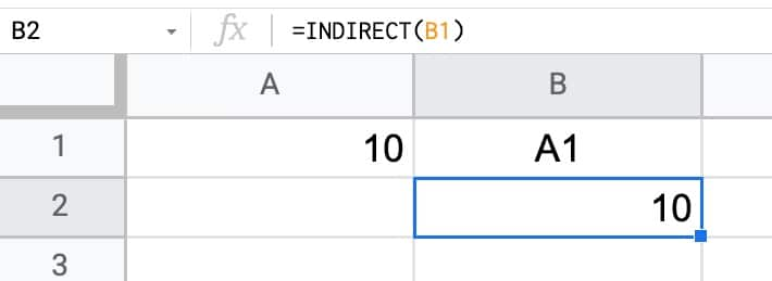 Indirect Formula Cell Reference